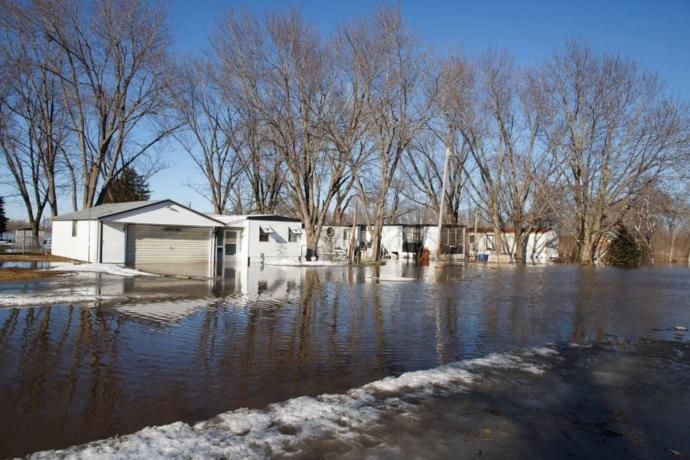 Are there any GAGers who have been effected by the NEBRASKA Flooding?