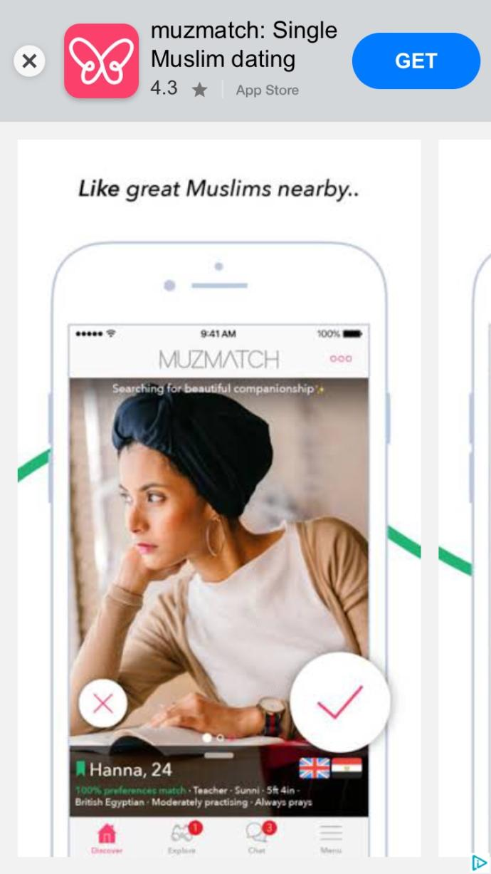 Why do I keep getting Muslim dating apps?