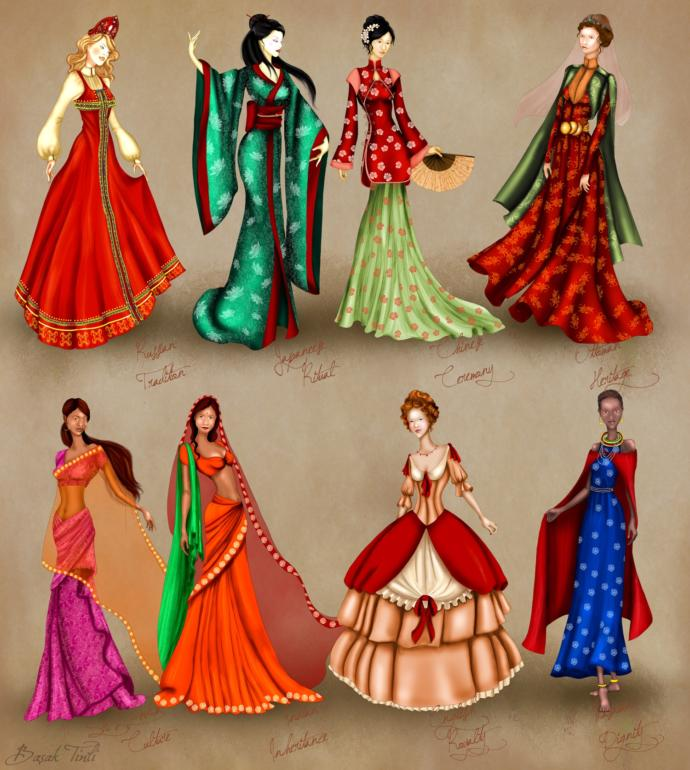 What's your favorite women's traditional dress?