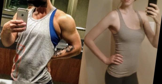 Would you 'trust' the girl in the right photo as your personal trainer more than the one on the left?