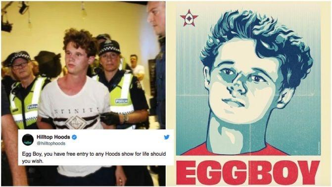 What do you think of ''egg boy''?