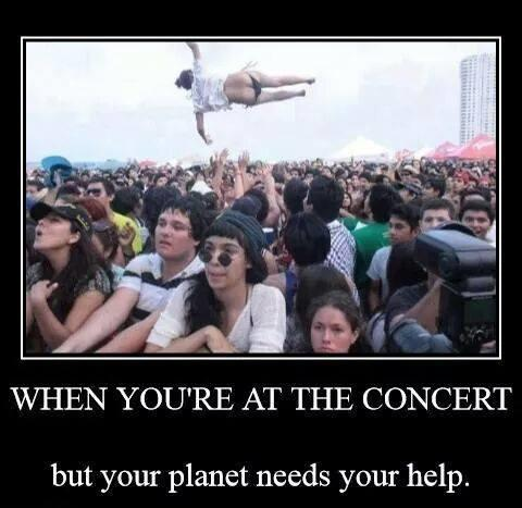 Do you prefer going to a concert by yourself or with company?