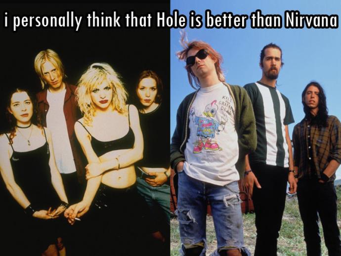 Hole or Nirvana?