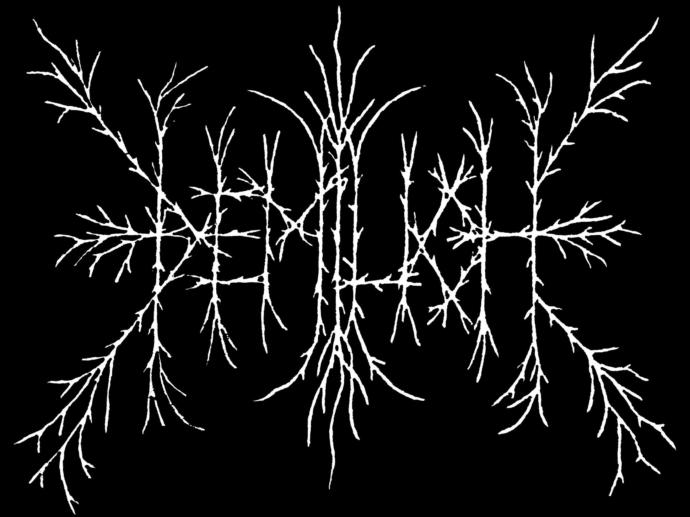 What does THIS band logo say?