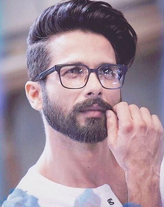 Guys with clean shaved look or beard look?