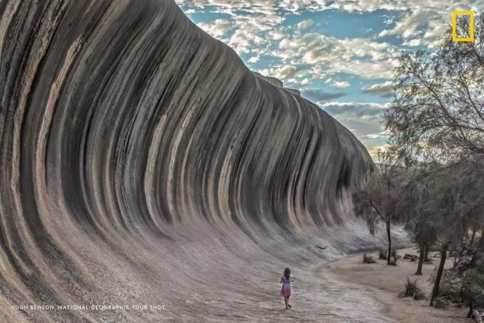 Wouls you like to visit the Wave Rock in Hyden, Australia?