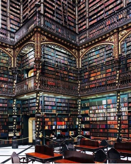 Would you want to visit the Royal Portuguese Reading Room in Rio de Janeiro?