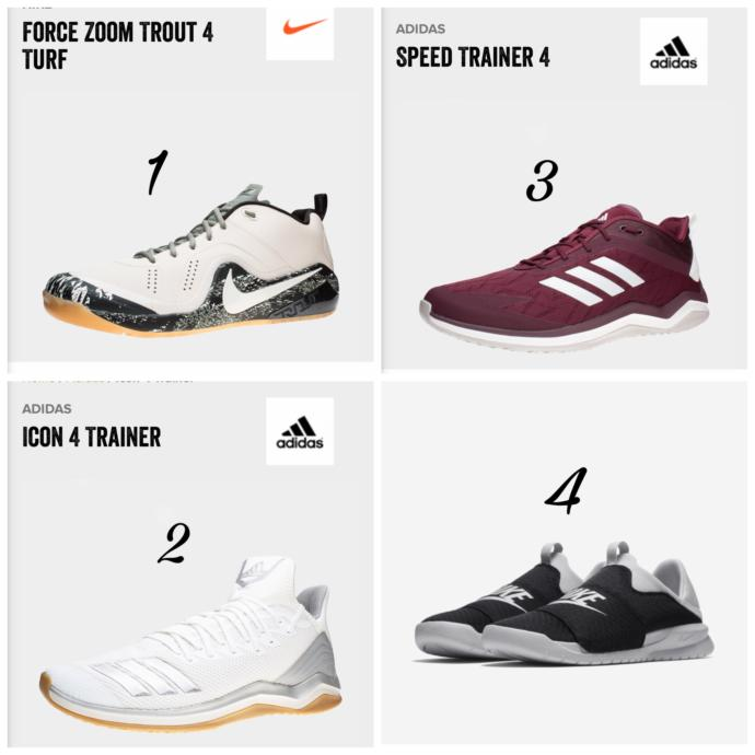 Which of these shoes look better?