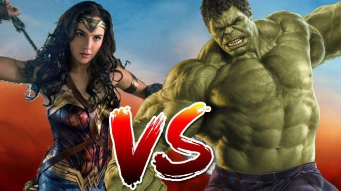 Wonder Woman v. Hulk: who wins?
