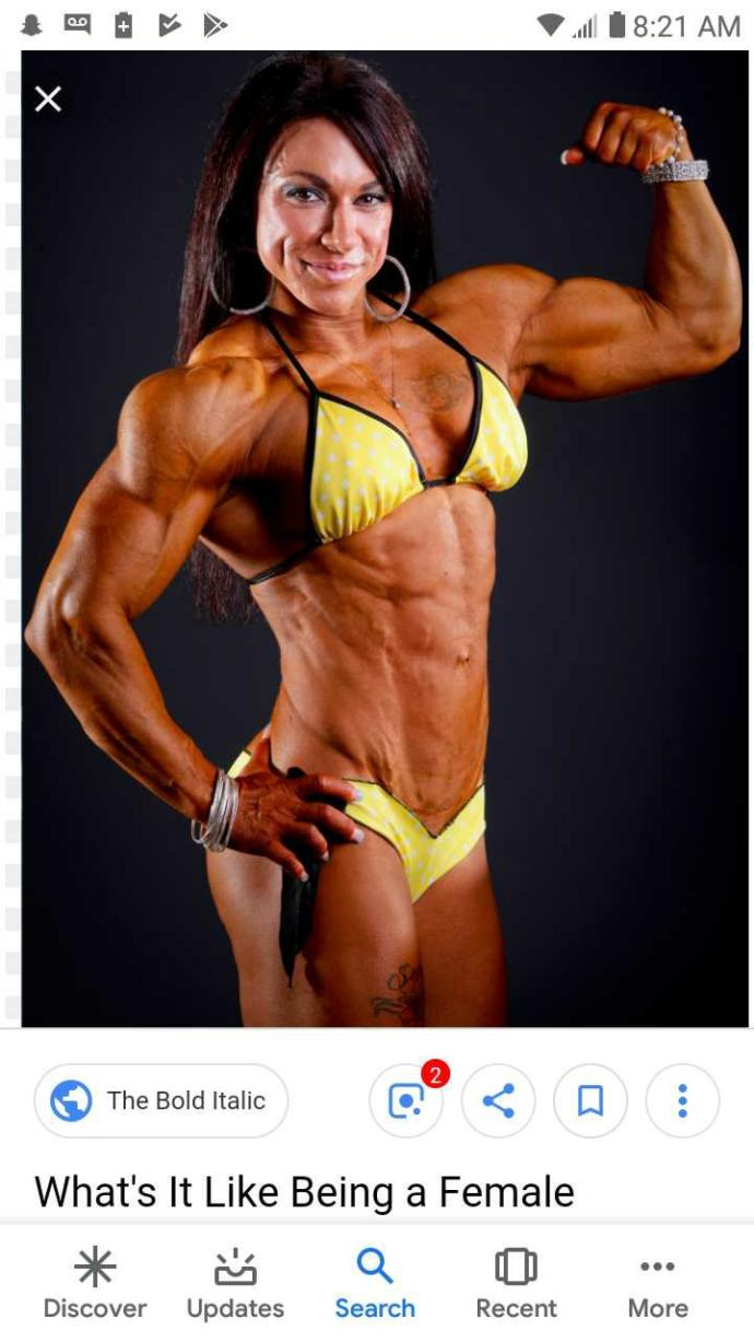Guys: Would you rather date a female bodybuilder or an overweight woman?