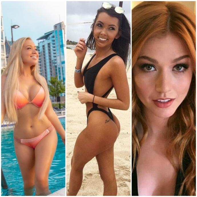Blonde, redhead, or brunette? Who catches your eye first?