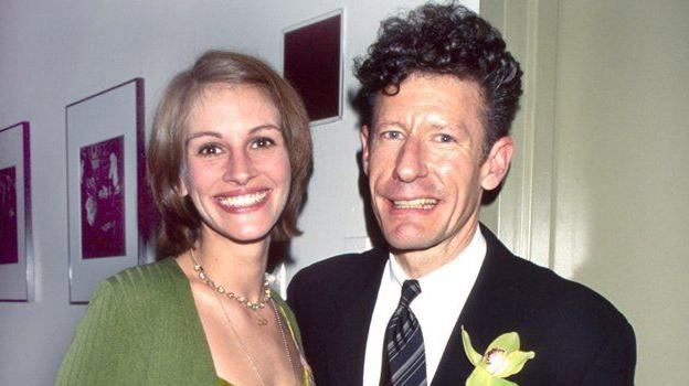 Julia Roberts and Lyle Lovett: was he really