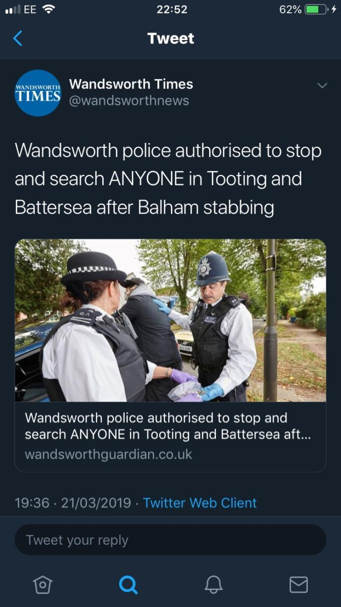 Many stabbings in London recently. is that normal here?