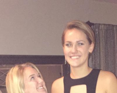 My youngest sister is so much taller than me!! I'm 5-5 and