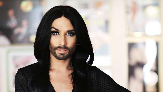 Do you like Conchita Wurst's new looking?