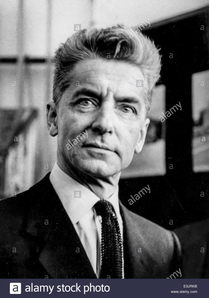 Do you think the German Conductor Herbert Von Karajan was very handsome and masculine?