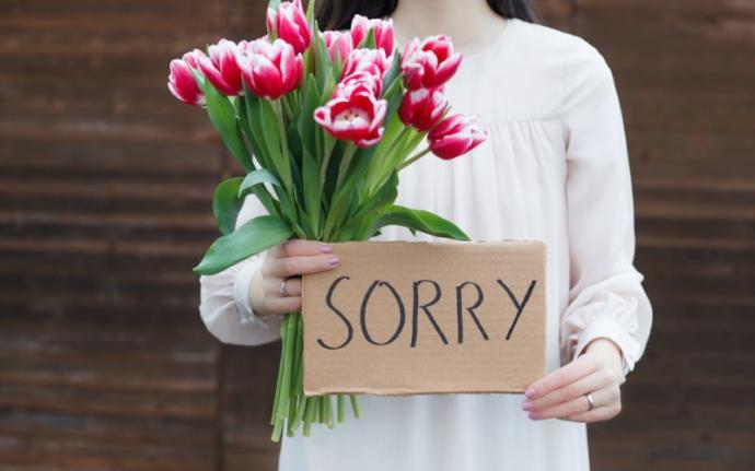 How do you prove that you're sorry?
