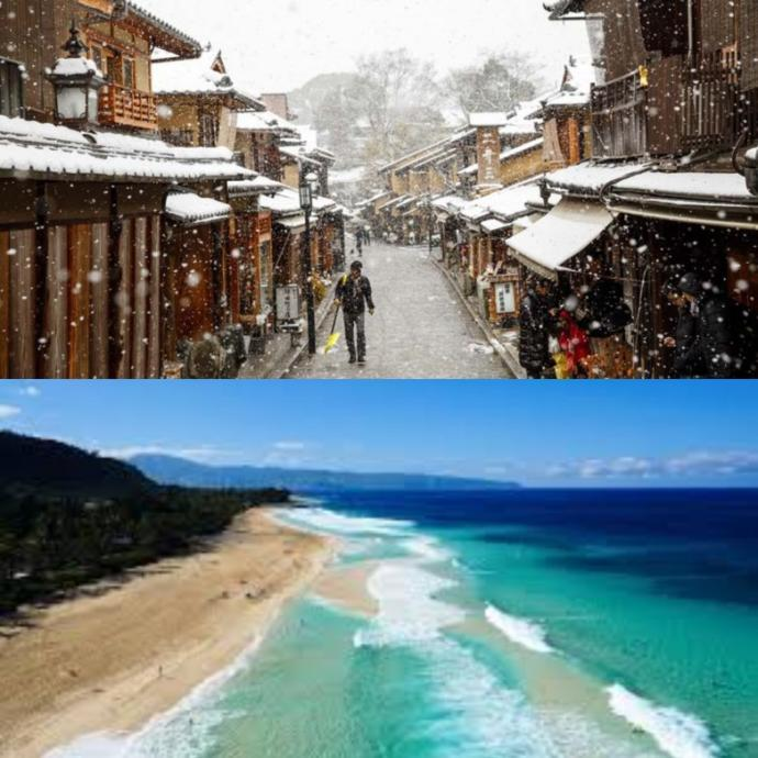 Which place would you rather visit if you could??