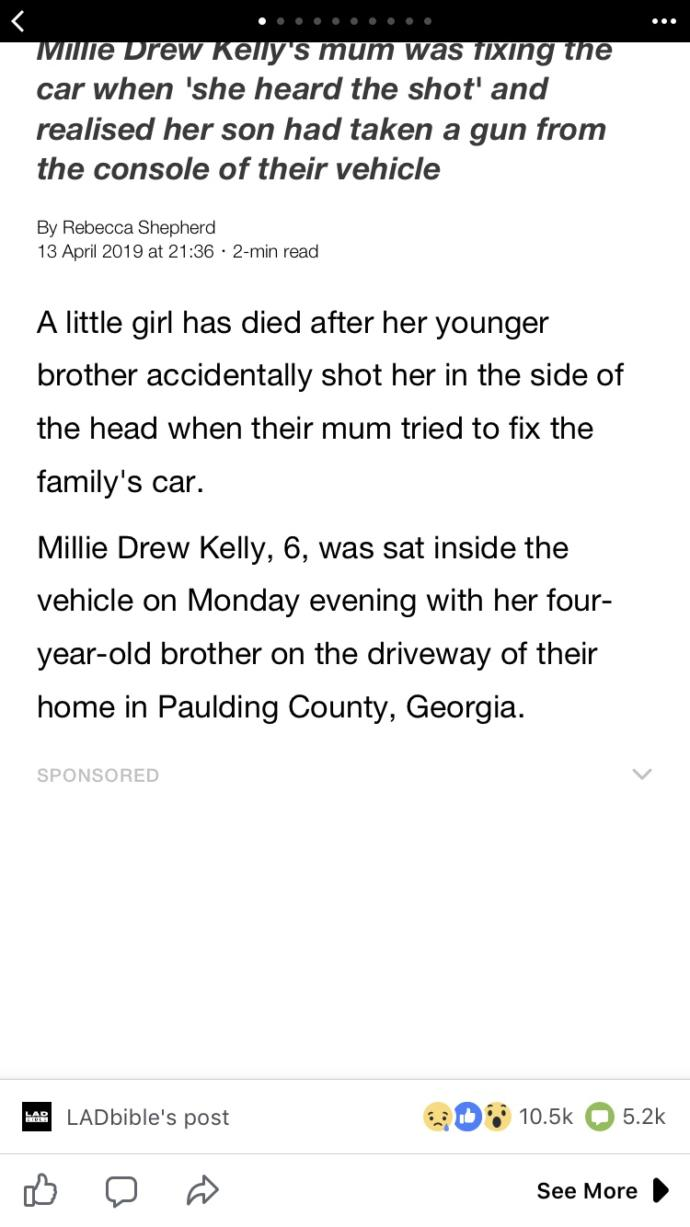A 4 year old little girl was accidentally shot in the head by her brother.. should the parents be done for neglect?