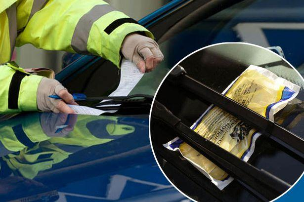 Have you ever had a speeding fine , or parking ticket?