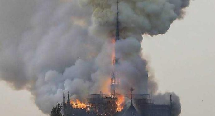 Breaking News: Notre dame is burning, thoughts?
