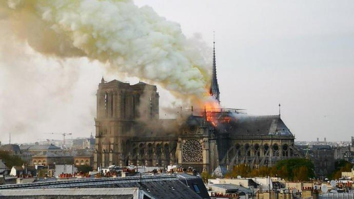 Do you feel like the Notre Dame fire could have been set intentionally or just an accident?