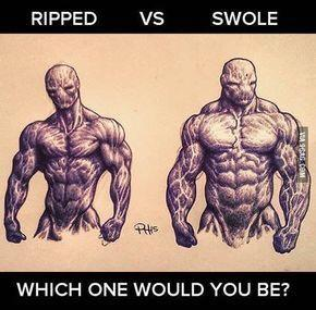 What's more attractive? A big and swole strong body or a lean and ripped body? Why?