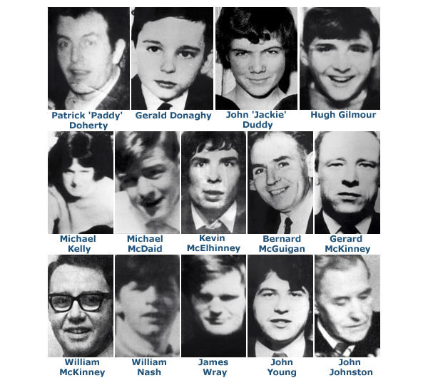 Should the British soldiers who shot innocent people on Bloody Sunday &the Ballymurphy massacre be jailed?