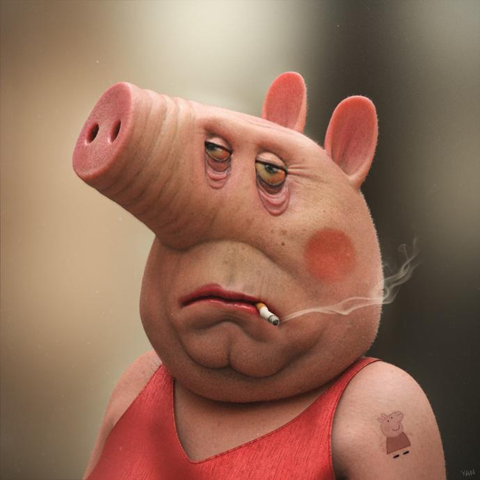 Are you exited for the live action Peppa Pig movie that's coming out next year?