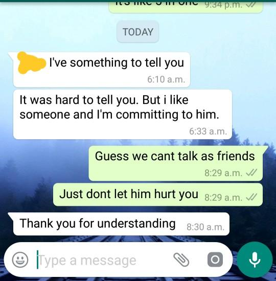 Do you think friendship works after breakup?