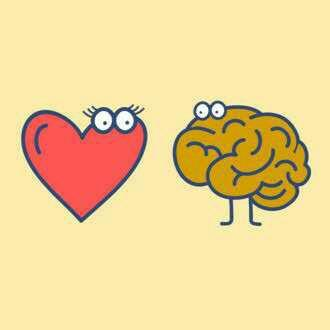 Do we fall in love with someone with our brain or heart?