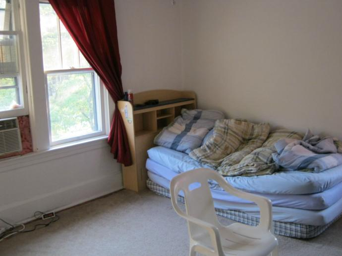 Didn't I have the nicest bed in the world I took this pic in 2010?