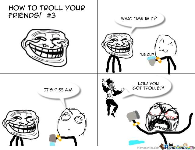 Is being a troll a dealbreaker for you?