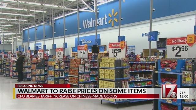 Walmart going to raise prices on some items thanks to Chinese Tariffs so what do you think about this one?