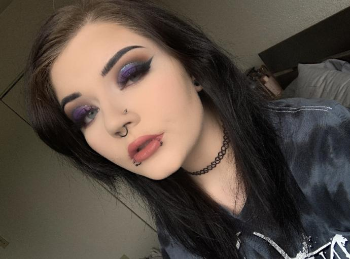 I like this makeup less than the other day I posted. But what do you think of it?