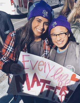 How do you feel about these teen girls being pro-life?