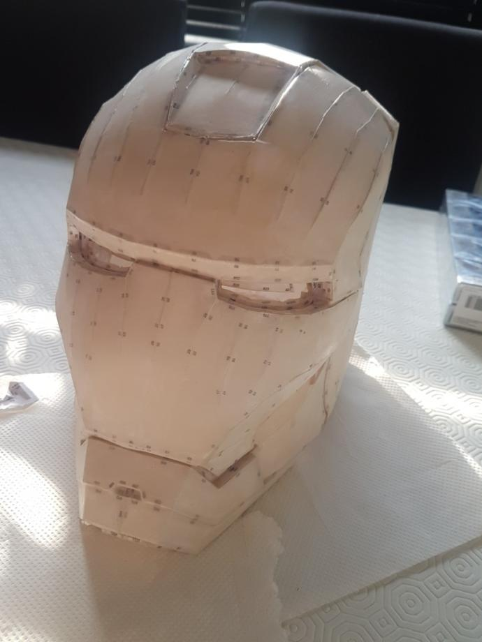 I am building an Iron man suit.. do I still carry on?
