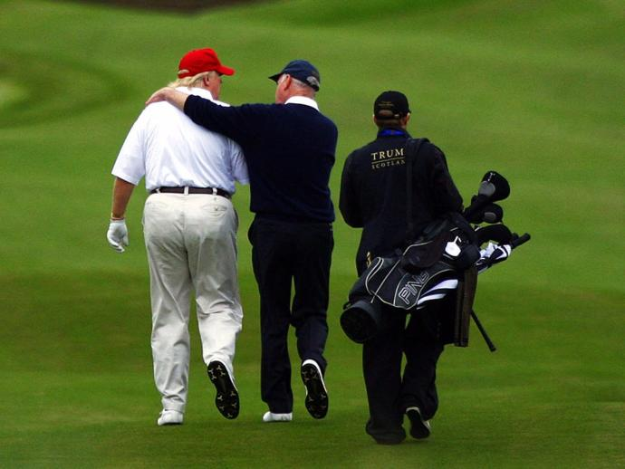 Breach in security: President Trump's golf scores were hacked! Who cares? Do you?