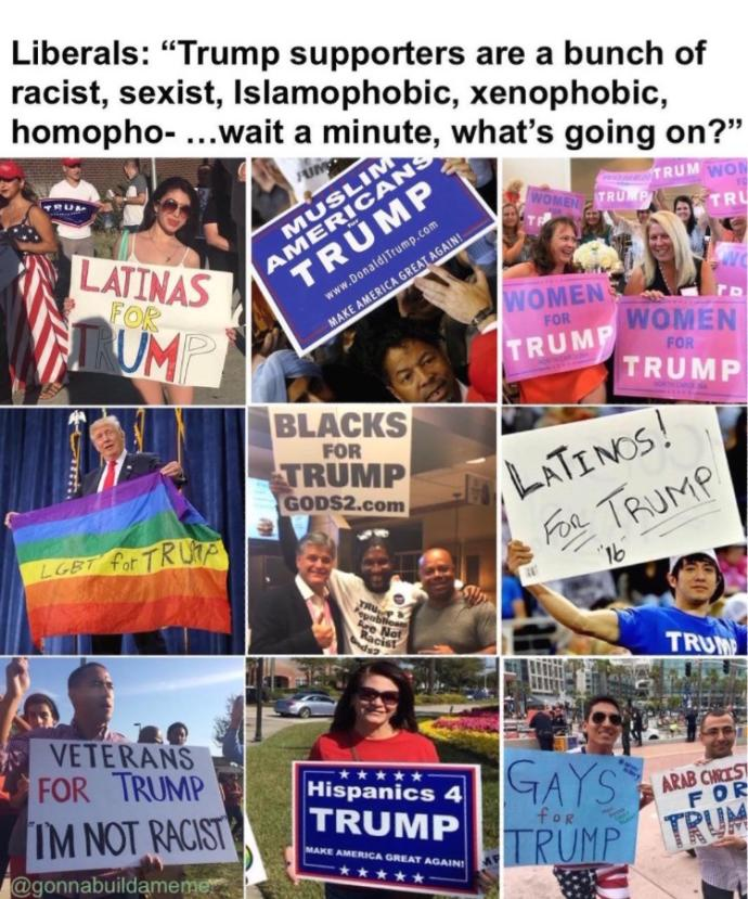 What evidence is there that Trump is racist?