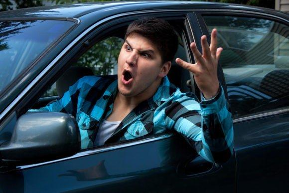 Is it worse to drive tired or angry?