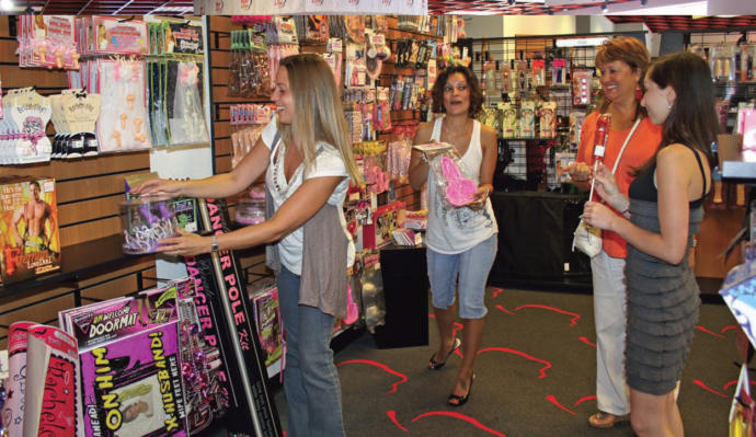 Have you had good, or bad, shopping experiences at retail adult toy/novelty/clothing stores?
