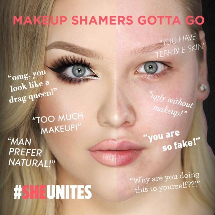 Why does makeup get so much hate/judgment nowadays?