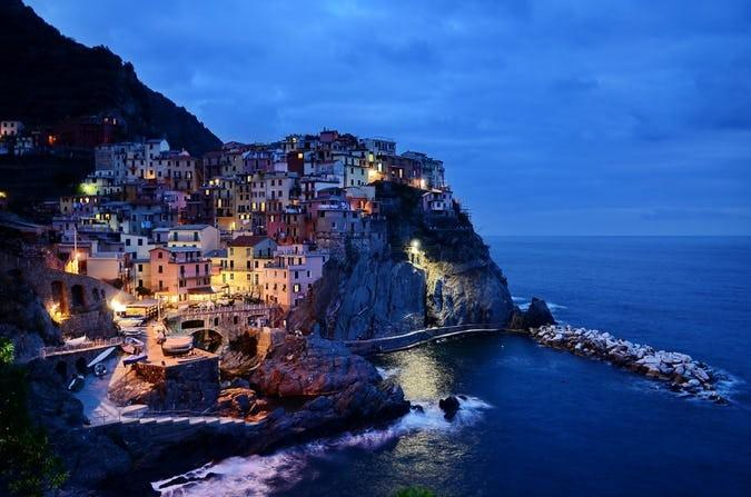 Would you like to visit Cinque Terre villages on the coast of Liguria, Italy?