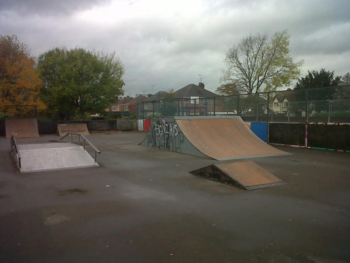 The multi facility based playground which was the entertainment centre of my youth