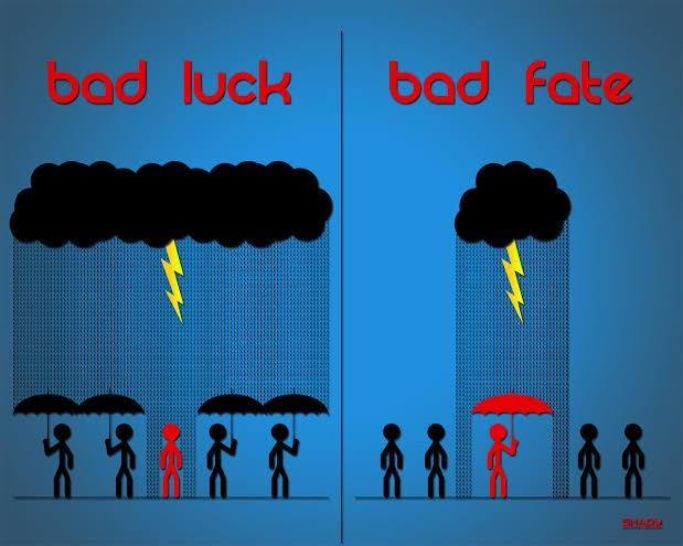 Do you believe in luck and fate?