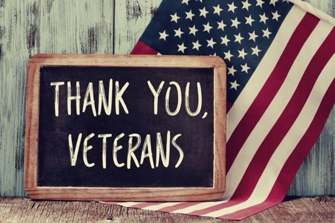 Do you thank every veteran for their service to your country?