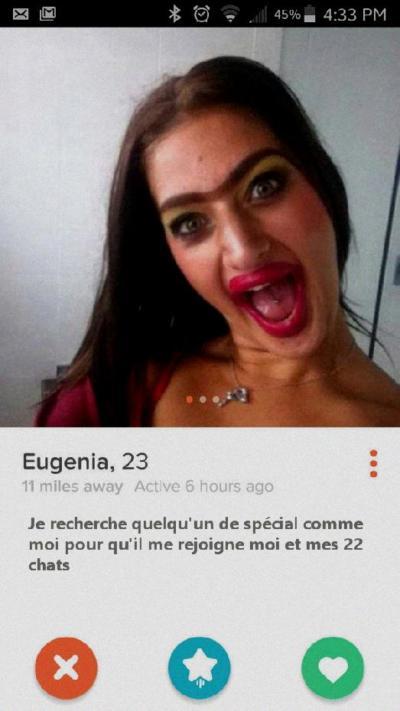 Online Dating profil för en man