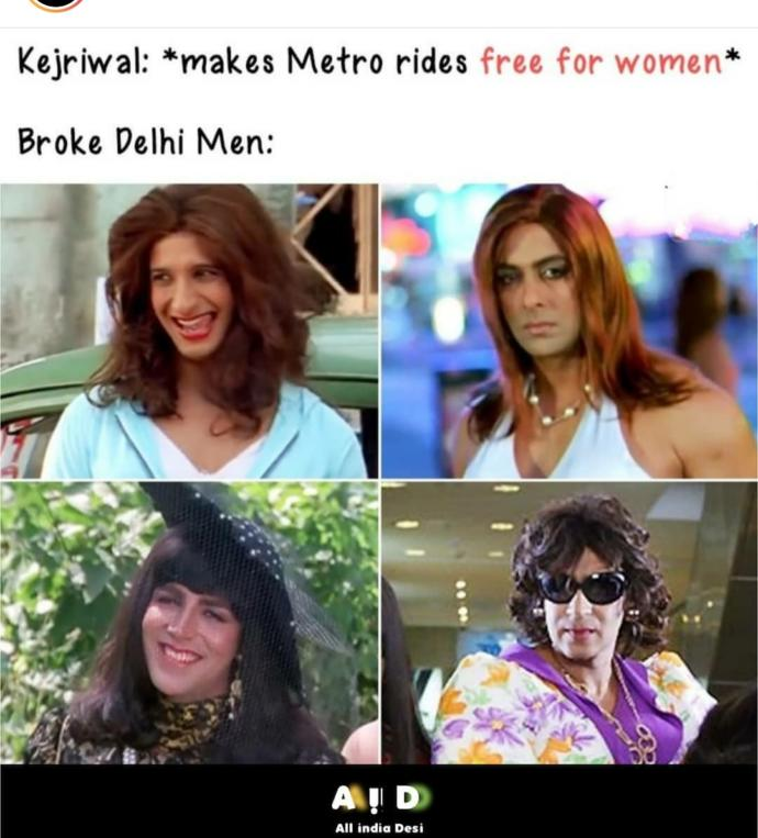 Do you think public transport for women should be free?
