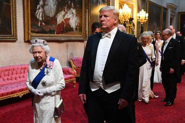 Should Harry &Meghan be punished if they failed to perform their Royal duties during Trump visit and how should they be punished?