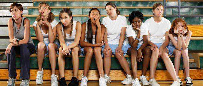 Why do girls generally hate PE in junior high and high school?